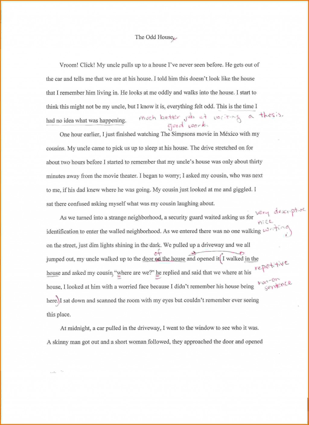 020 Essay Example Home Family Background Autobiographysample2 Dreaded Dream Spm In English A Beautiful Hindi Large