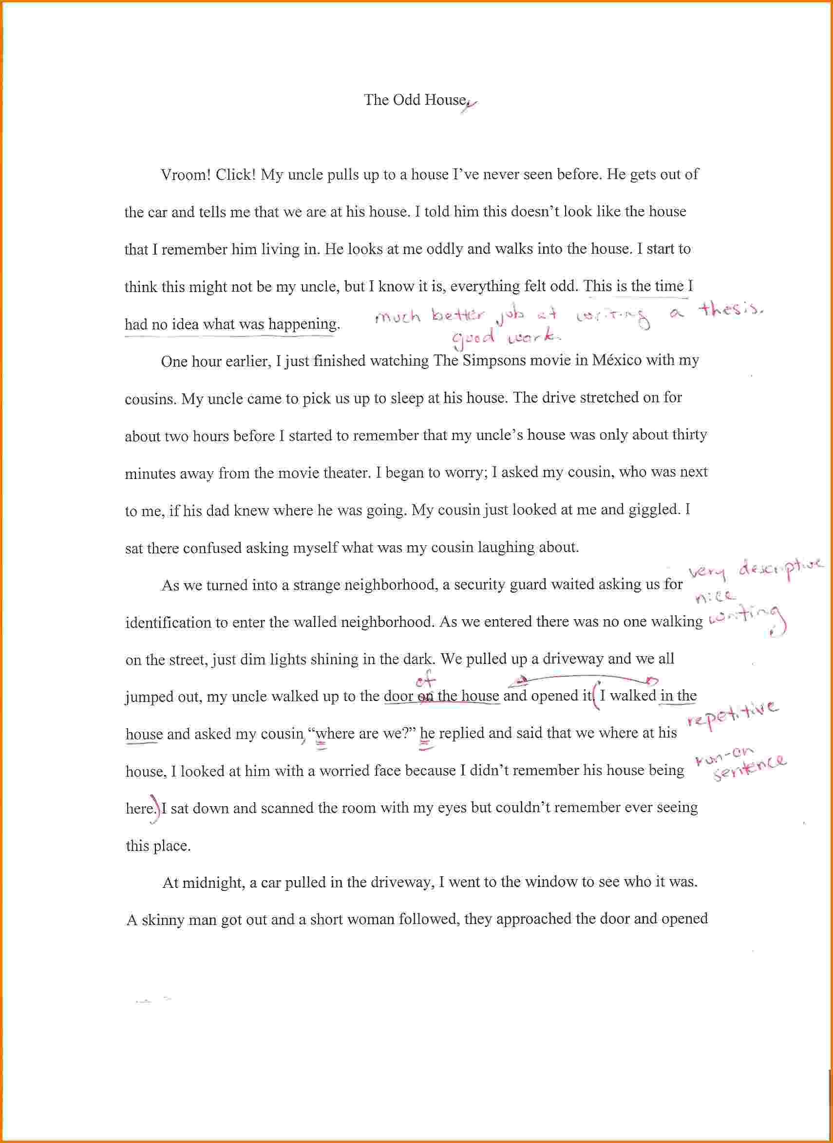 020 Essay Example Home Family Background Autobiographysample2 Dreaded Dream Spm In English A Beautiful Hindi Full