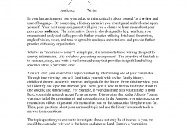 020 Essay Example How To Start An Beautiful Informative Write 4th Grade Do You Introduction
