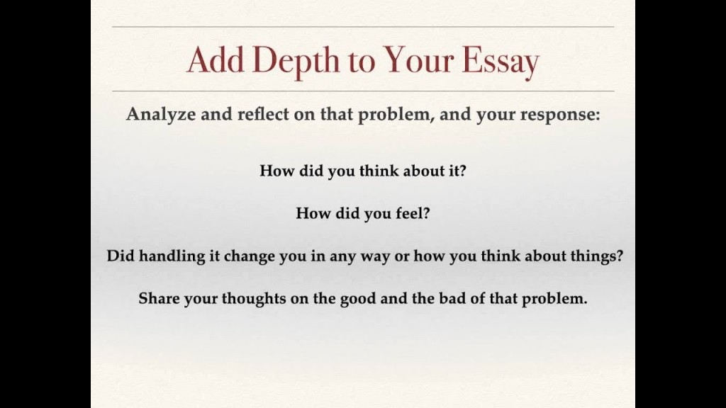 020 Essay Example Maxresdefault Common App Prompts Rare 2015-16 Large