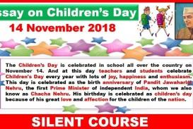 020 Essay Example Maxresdefault On Rare Children Children's Day In Kannada Telugu