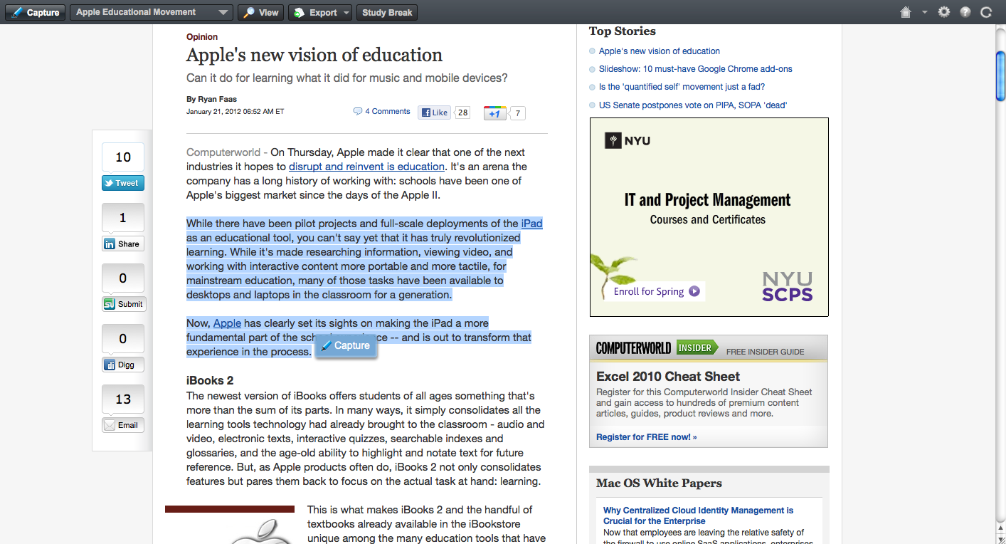 020 Essay Example Screenshot2012 21at11 15am How To Cite Website Stupendous In A Paper With No Author Or Date Citation Text Apa Full