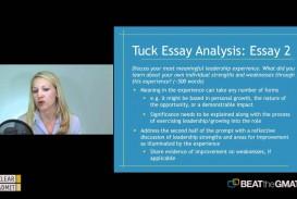 020 Essay Example Tuck Mba Essays Marvelous Sample Tips 2018