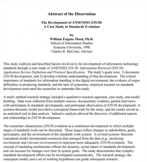 Publishing a dissertation in a journal