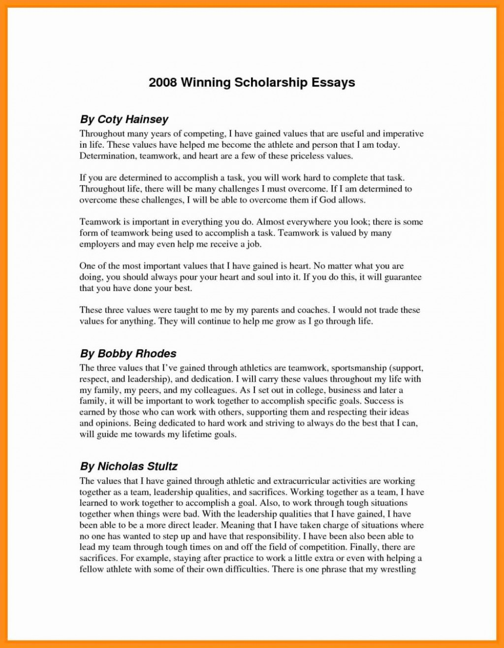 020 Examples Of Scholarshipsay Winning Resume Financi Pdf Career Goals Nursing About Yourself Financial Need Words Why Do You Deserve This Single Mother 1048x1347 Word Dreaded 500 Scholarship Essay Samples How To Write A Large