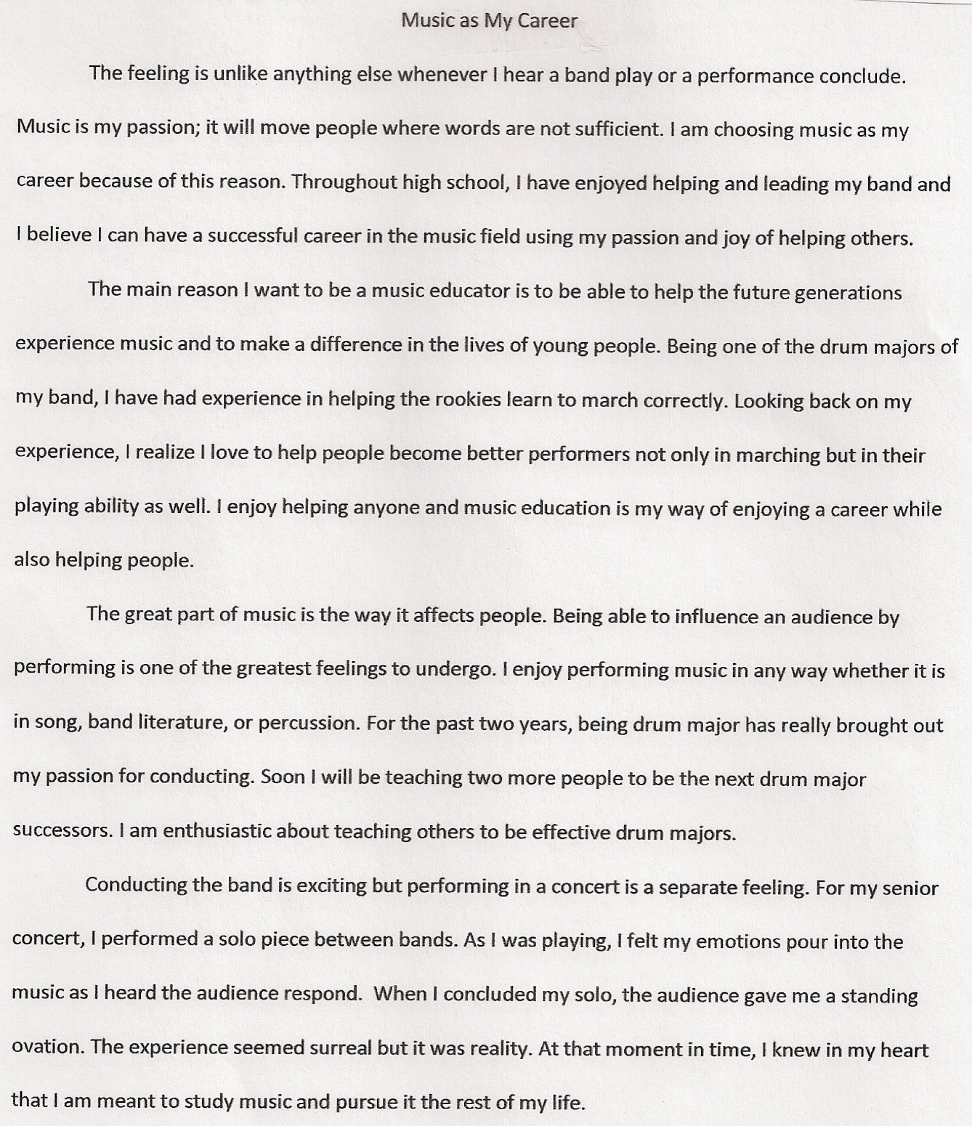 020 Graduation Essay Example Excellent Sample High School Essays For 8th Grade 1920