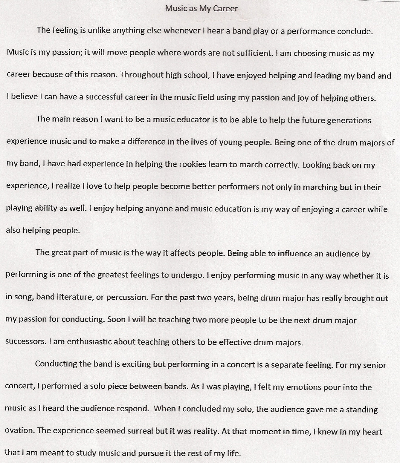 020 Graduation Essay Example Excellent Sample High School Essays For 8th Grade Full