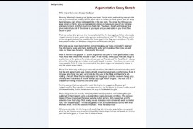 020 Importance Of Healthy Living Essay Argumentative Sample Astounding