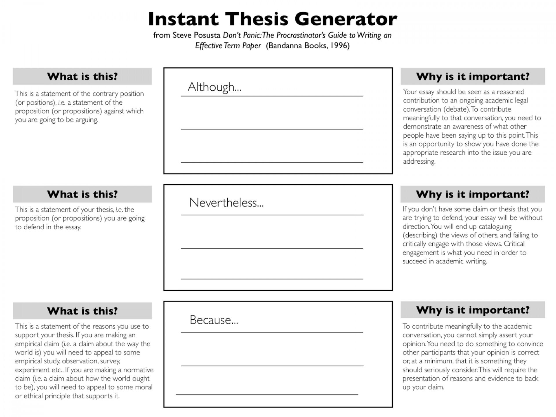 020 Instant2bthesis2bgenerator Essay Example Scholarship Singular Tips Gilman Psc Goldwater 1920