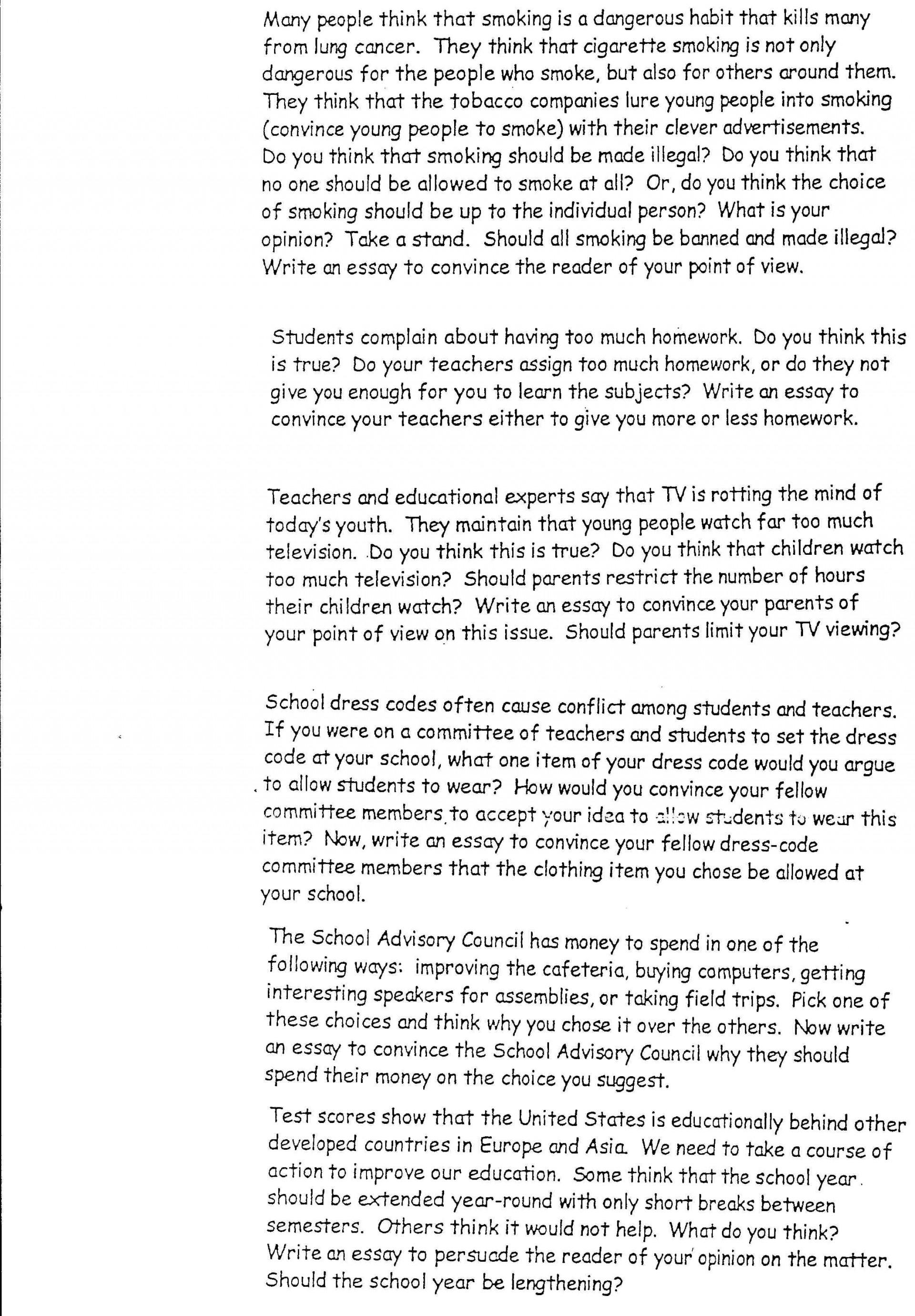 020 Interesting Essay Topics Argumentative Persuasive L Amazing For Grade 7 9 Pat 7th 1920