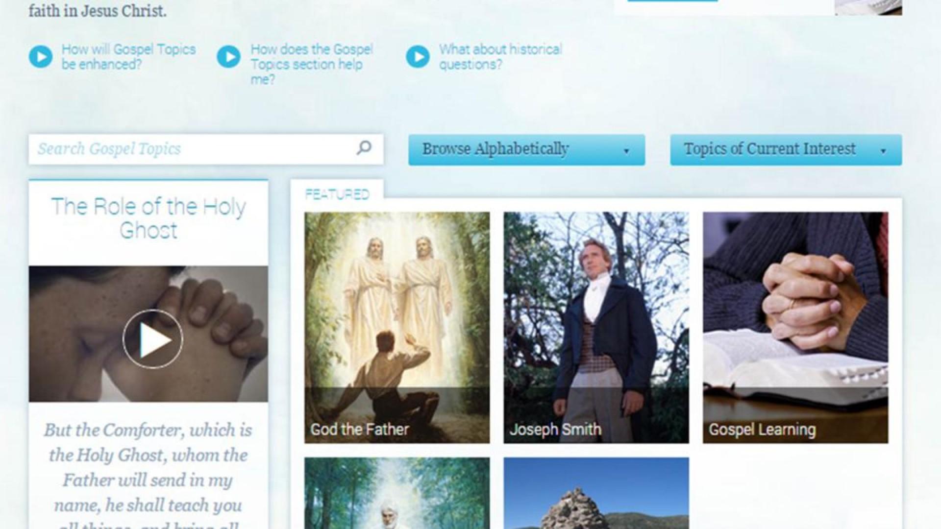 020 Lds Org Essays Gospel Topics Page Essay Wondrous Lds.org On Polygamy 1920