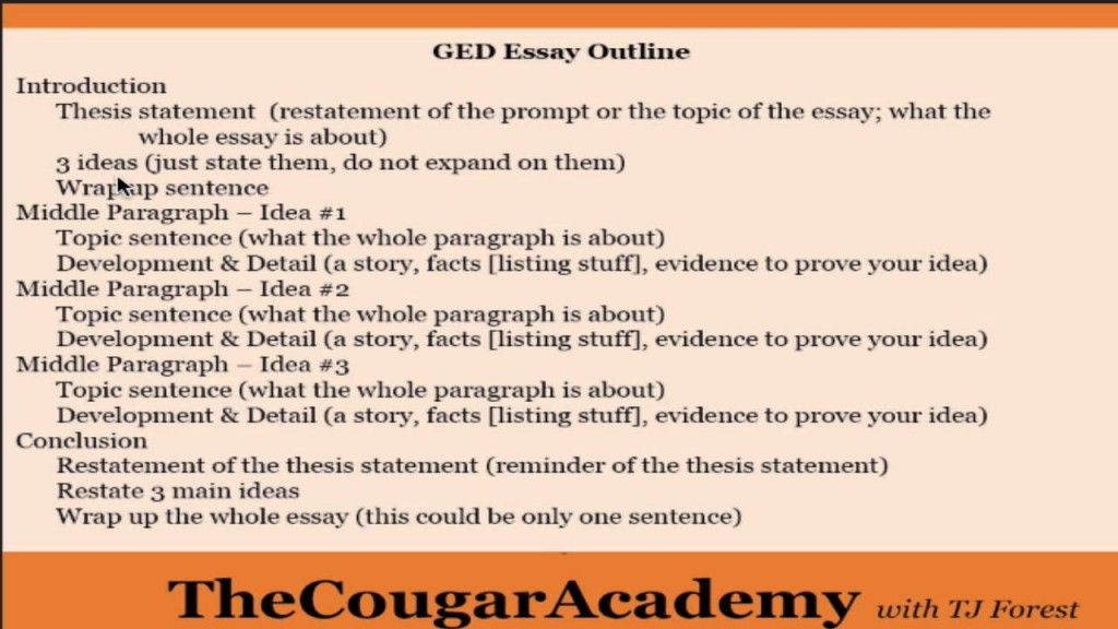 020 Maxresdefault Sample Ged Essays With Scores Essay Rare Pdf Large