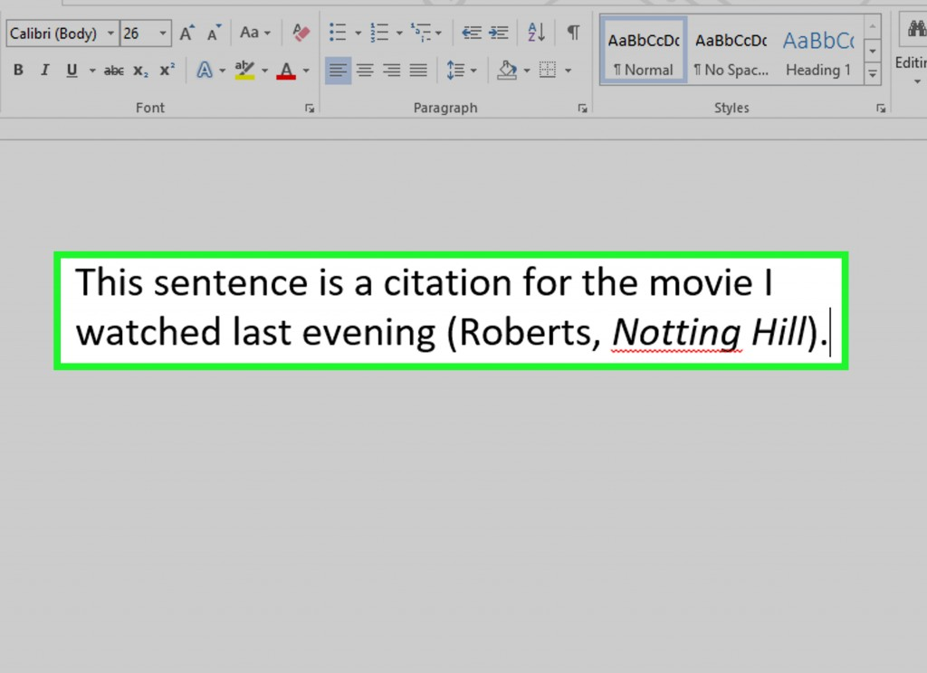 020 Mla Essay Citation Example Cite Movie Using Style Step Version Fantastic Within Book Format In Large