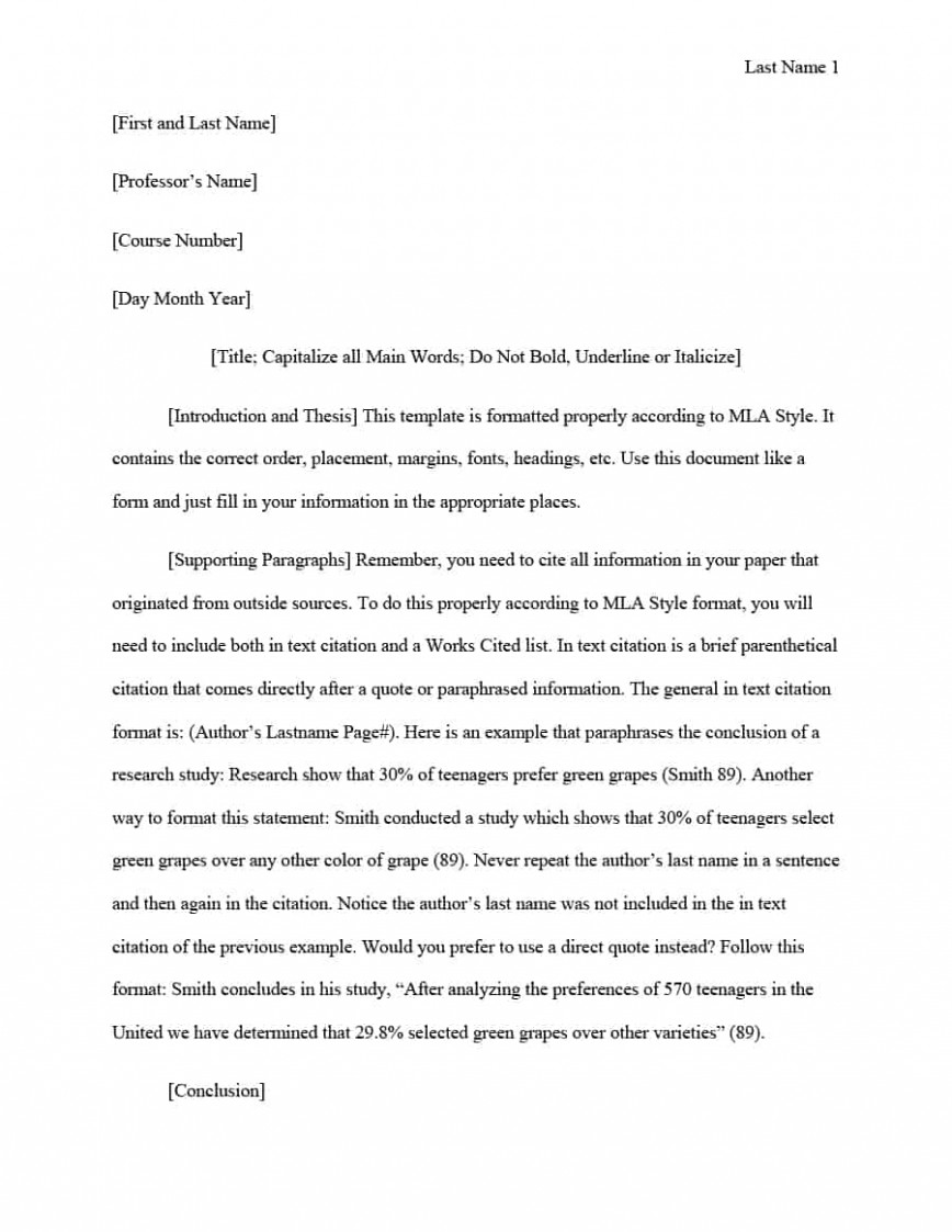 020 Mla Format Template Essay Awful Research Paper Style Formats Apa Vs