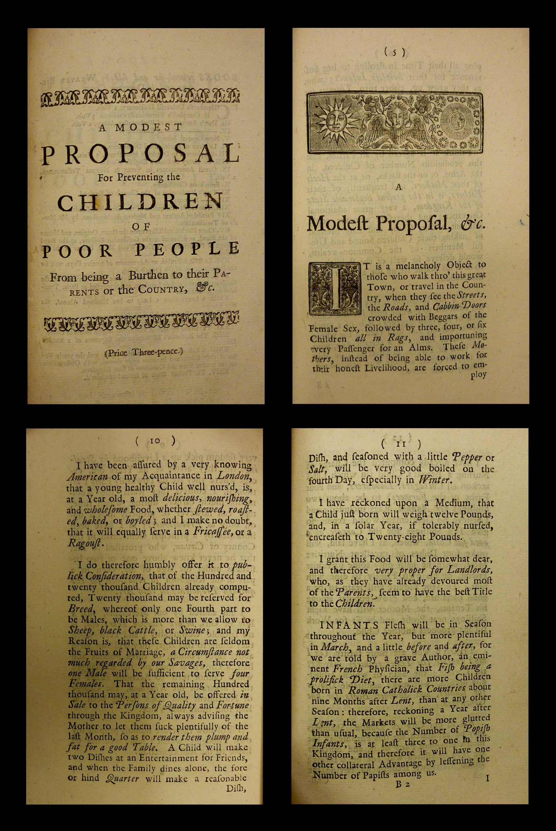 020 Modest Proposal Essay Example Modestproposal Exceptional Conclusion Topics Prompts 1920