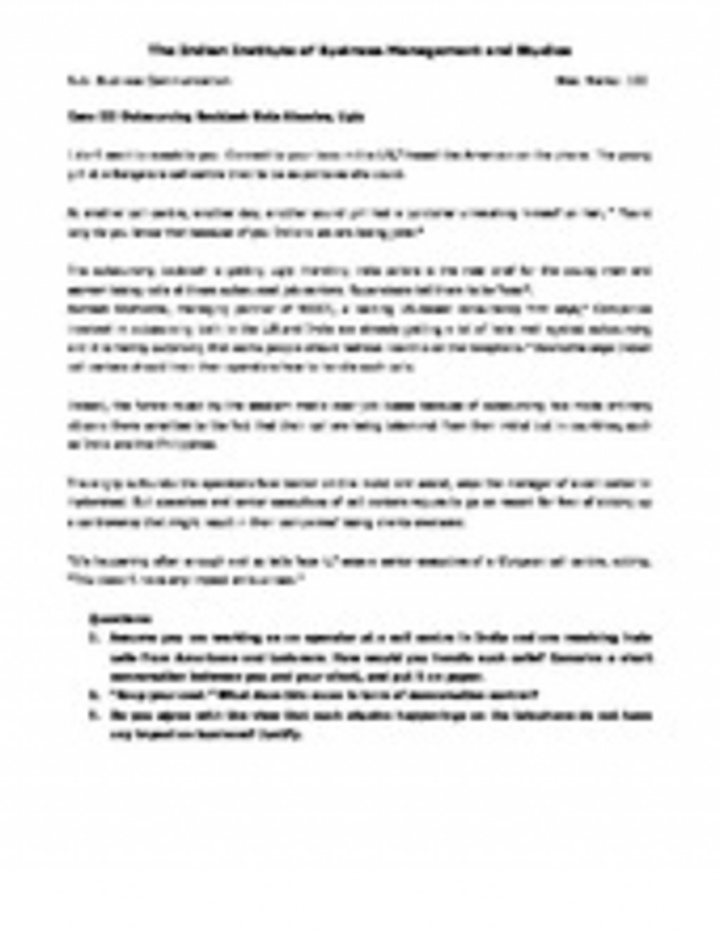 020 Nature Vs Nurture Essay 185035356 Business Communication We Are Providing Case Study Answers Assignment Solutions Project Reports And Thesis Isbm Iibms Iibm Isms Ksbmpage2 Incredible Paper Outline Topics Large
