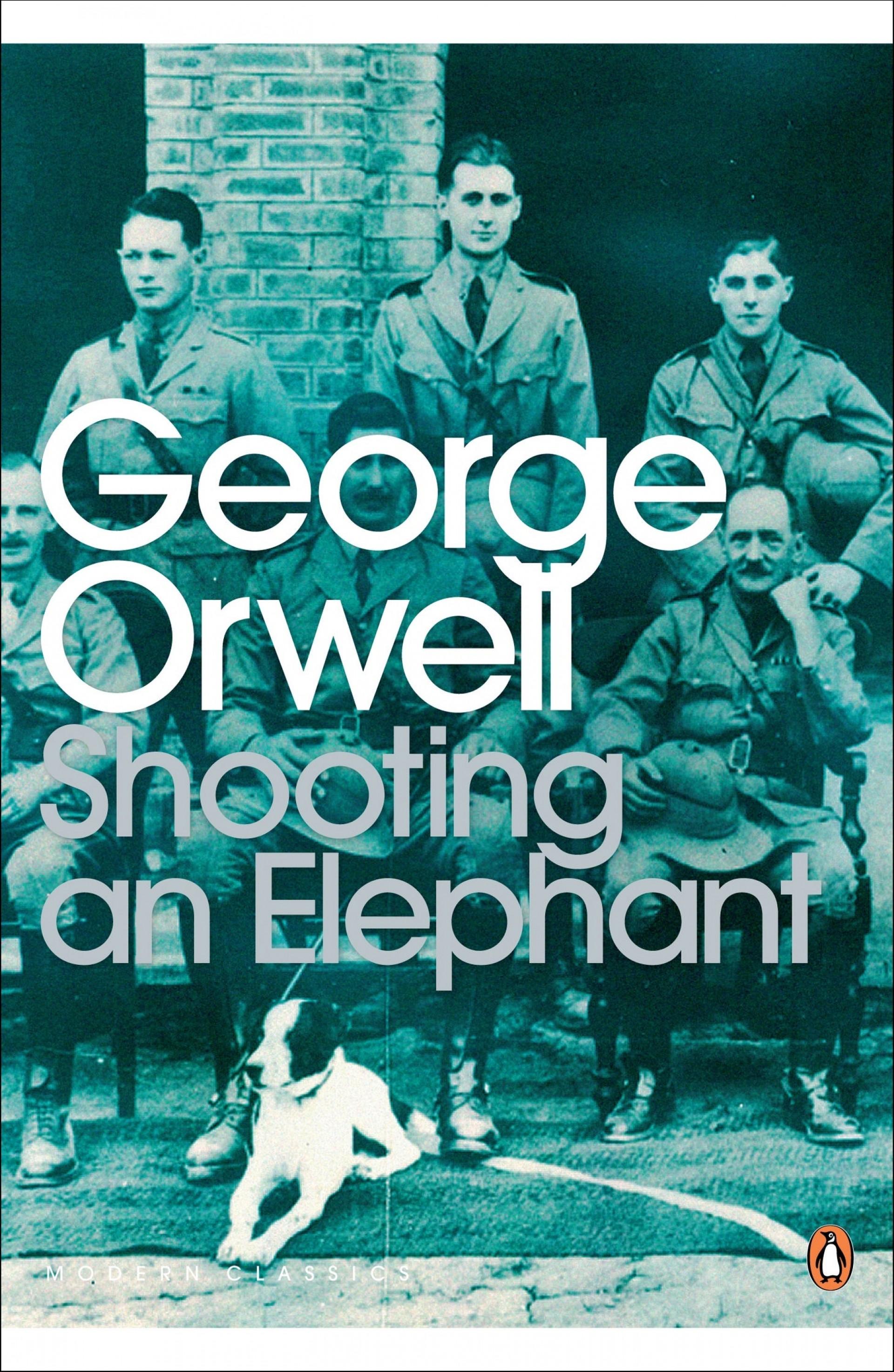 020 Orwell Essay Example George Frightening Essays Everyman's Library Summary Bookshop Memories 1920
