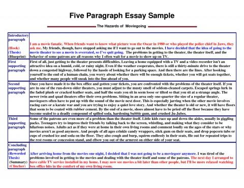 020 Paragraph Essay Outline Example Impressive 5 Five Template Pdf Argumentative 480