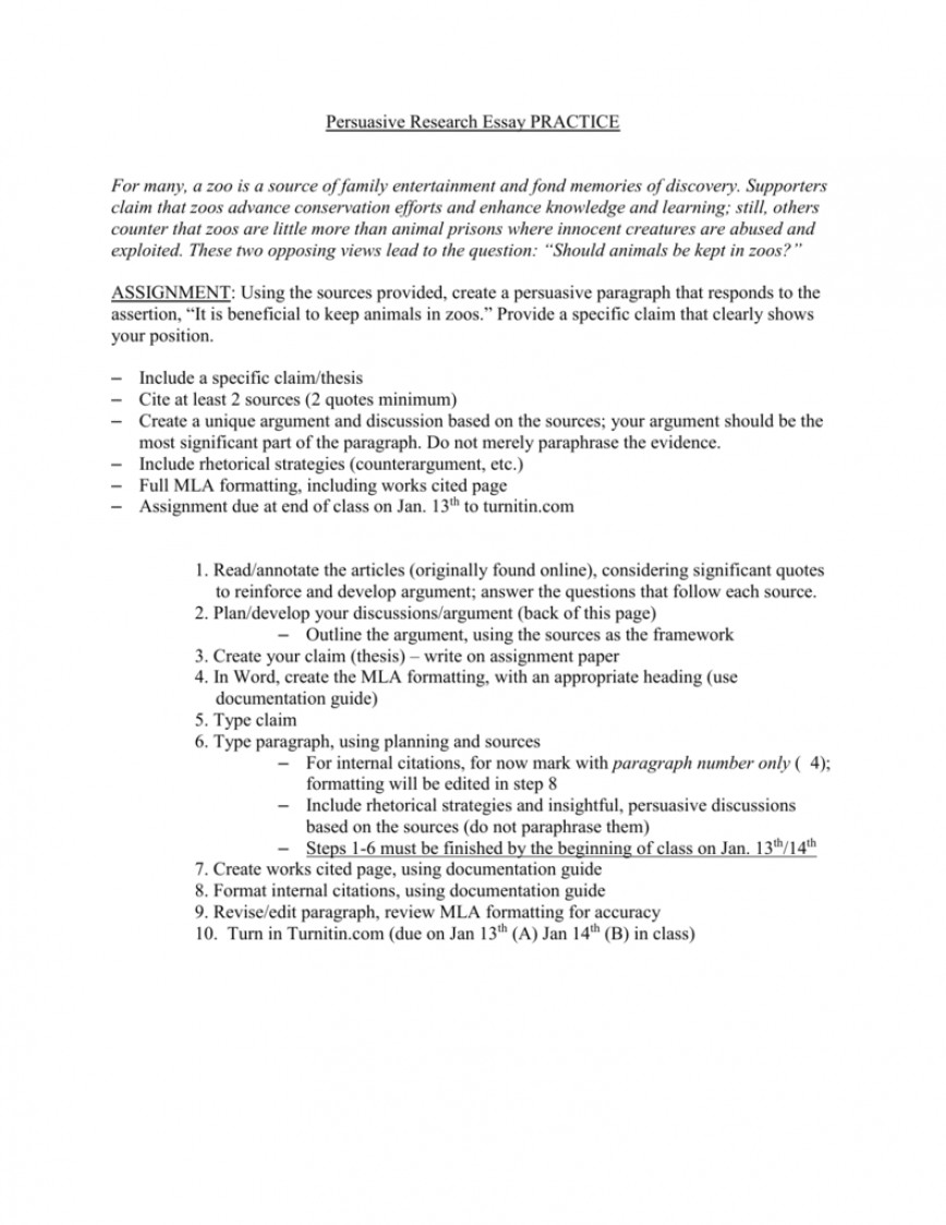 should animals be used for research argumentative essay