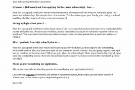 020 Sample College Scholarship Application Essay Example For Financial Unforgettable Need