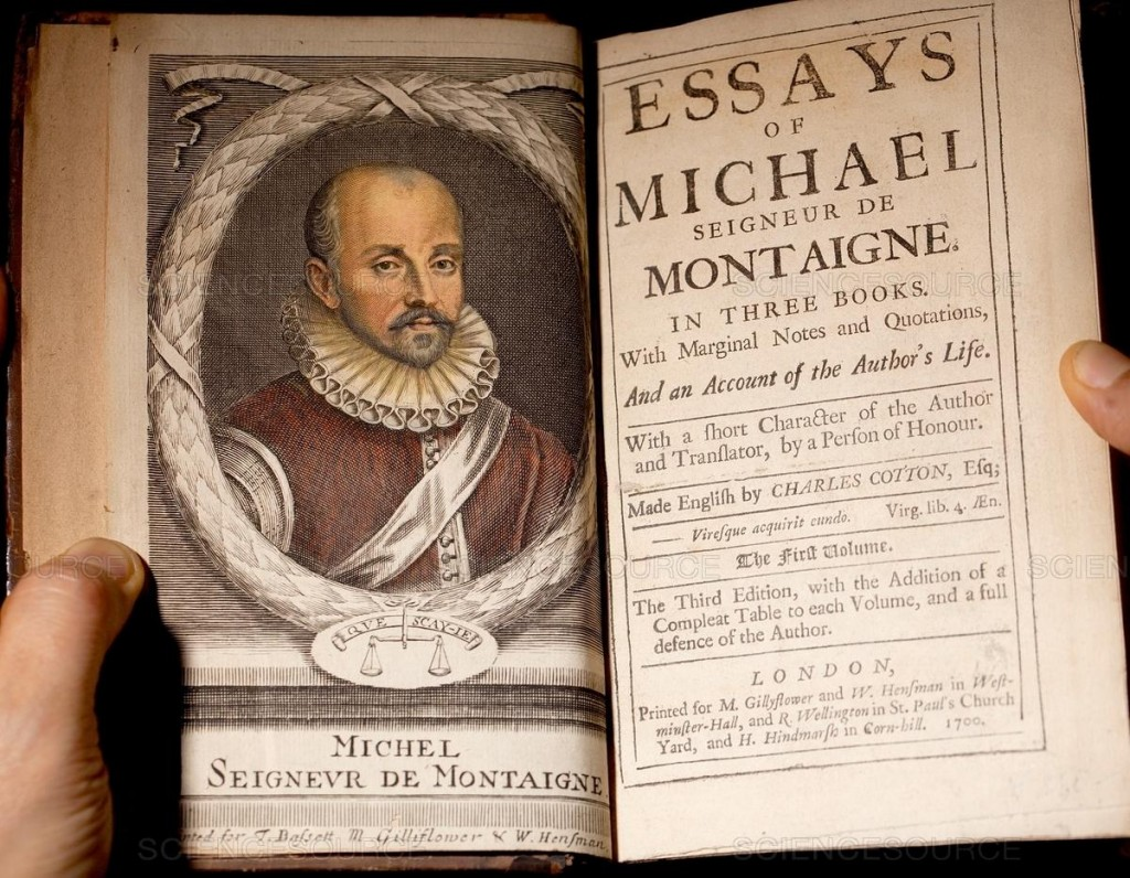 020 Ss21241997d63660872294 Michel Montaigne Essays Essay Frightening De On Experience Summary Quotes Large