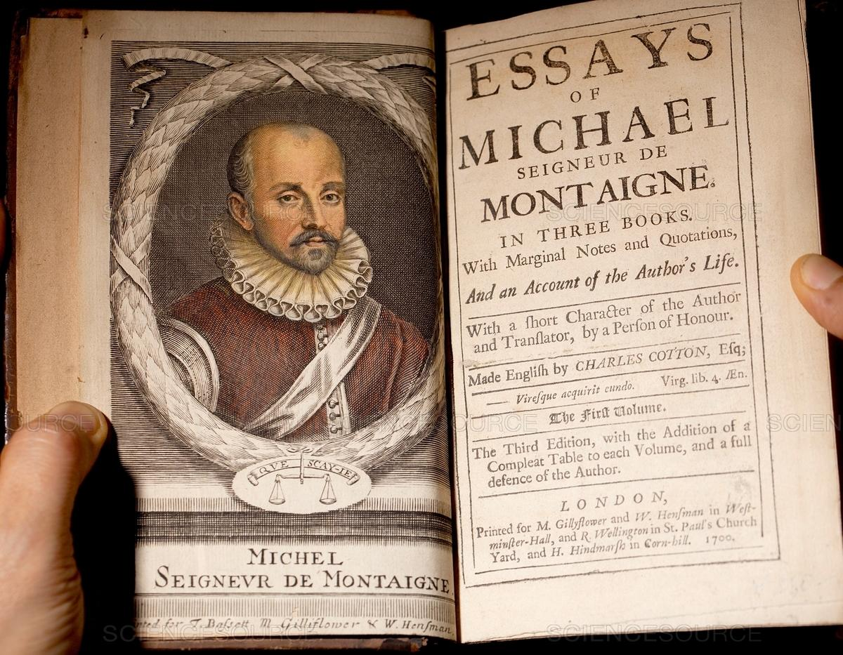 020 Ss21241997d63660872294 Michel Montaigne Essays Essay Frightening De On Experience Summary Quotes Full