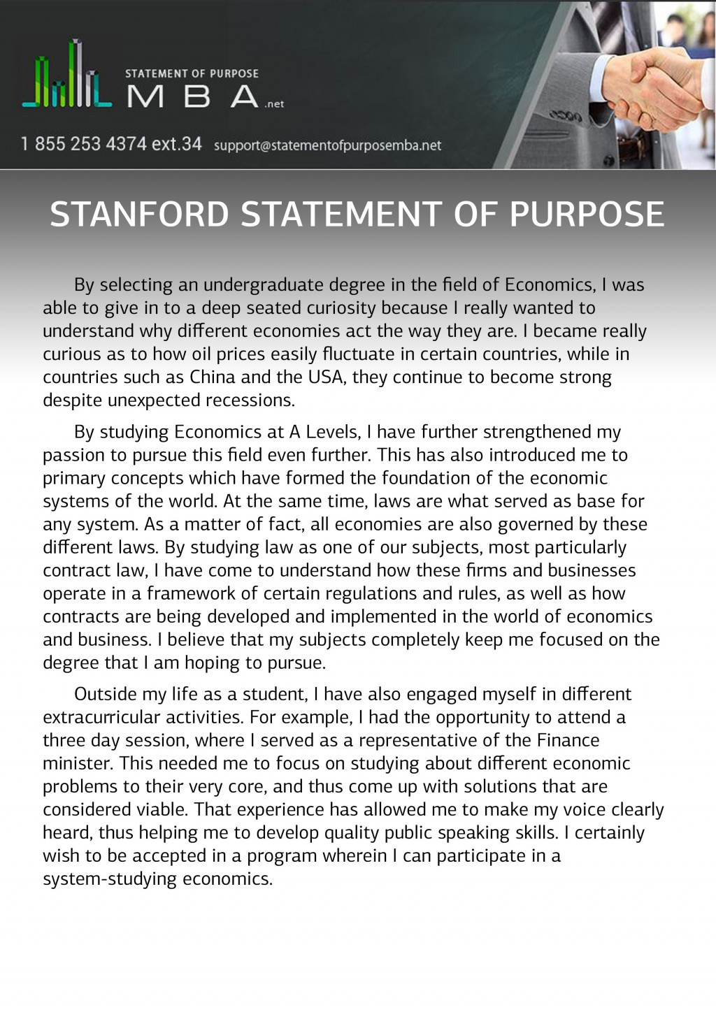 020 Stanford Statement Of Purpose Sample Essay Example Phenomenal Prompts Examples Application Large