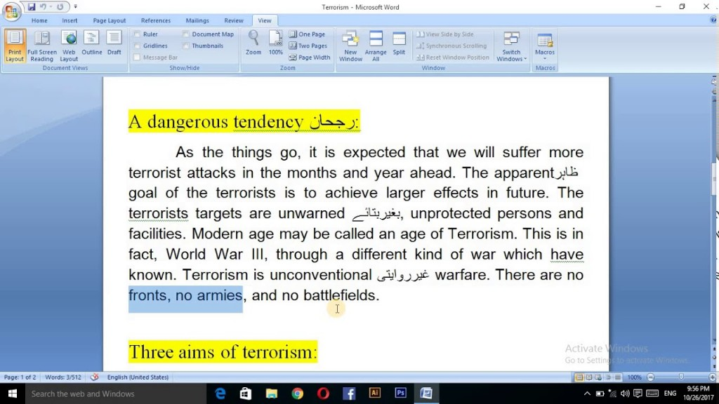 020 Terrorism Essay Example Wonderful Domestic Conclusion Questions Large