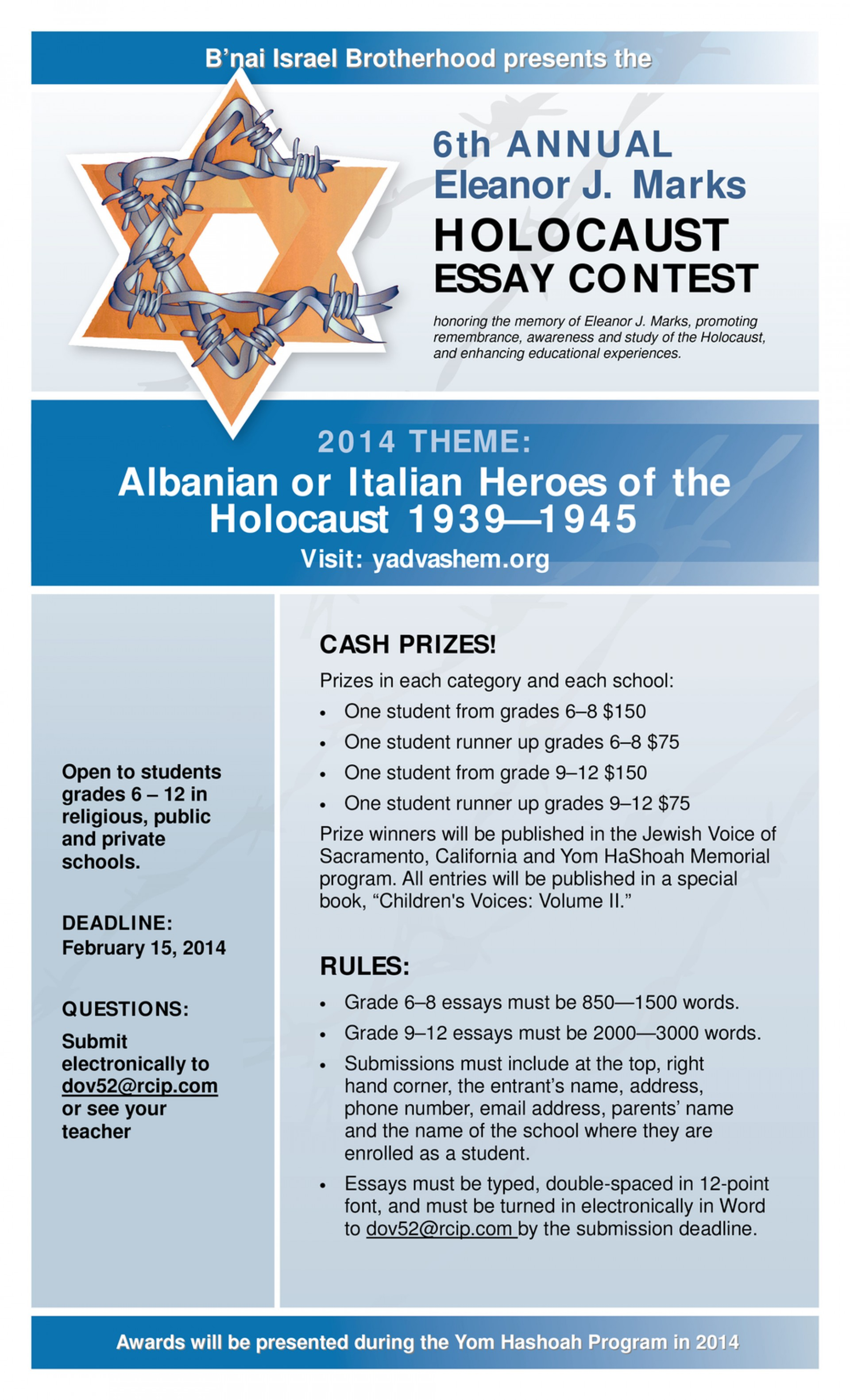 021 2014 Ejm Essayconttest Flyer 1500x2471 Essay Example Contests Imposing Maryknoll Contest Winners 1920