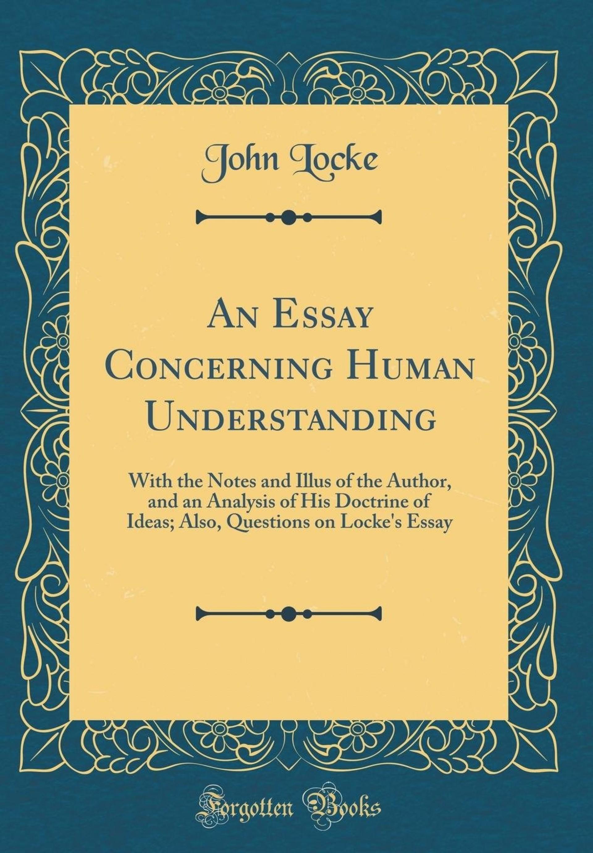 021 71zeizuftol John Locke Essay Impressive Concerning Human Understanding Book 4 On Pdf Summary 1920