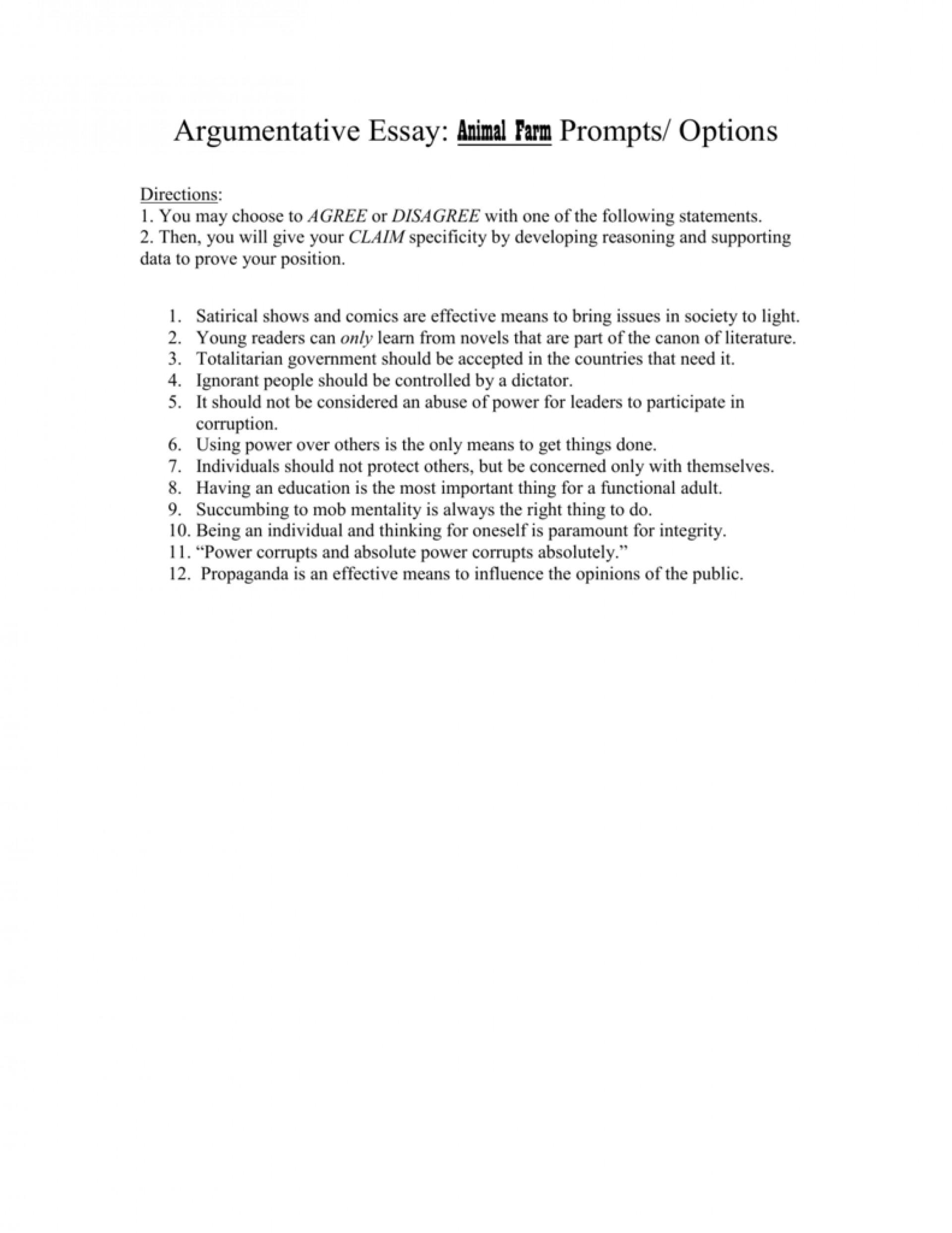021 Argumentative Essay Prompts Example 008019657 1 Rare Topics For 7th Graders College High School Pdf 1920