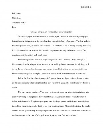 021 Chicago Essay Format Free Exquisite Turabian Style Without Title Page Template Shocking Footnotes Heading 360