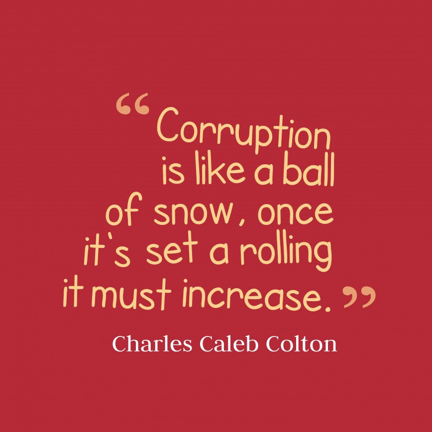 021 Corruption Is Curse Essay Like Ball Quotes By Charles Caleb Colton Unbelievable A In Hindi Urdu