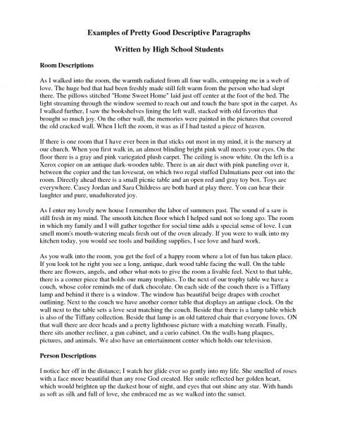021 Descriptive Essayss Short Paragraph Essay Amazing Essays Examples Sample About A Person Pdf Free Spm 480