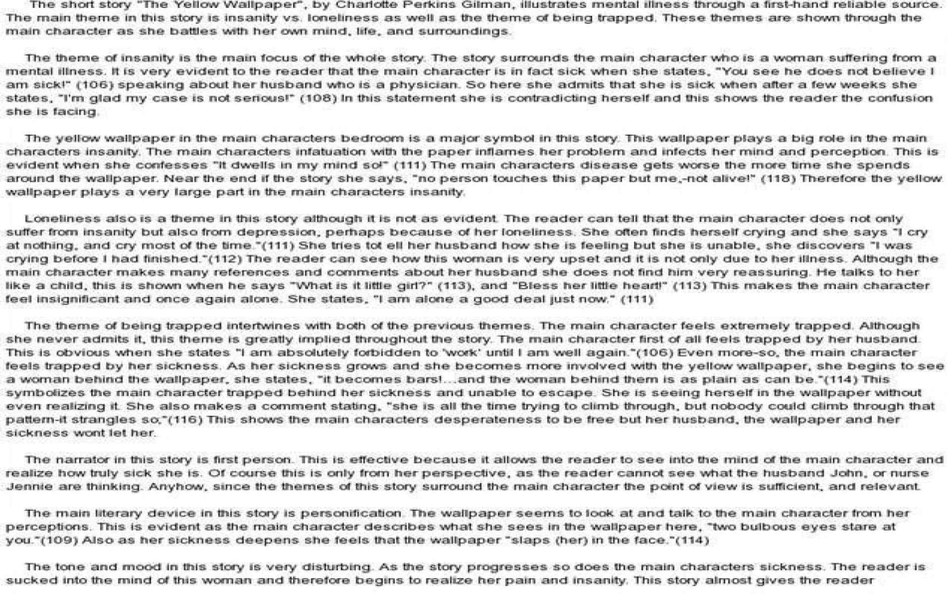 021 English Essays Essay Example 1680x1050 Yellow Wallpaper Rare 101 Reading And Writing Topics 1920