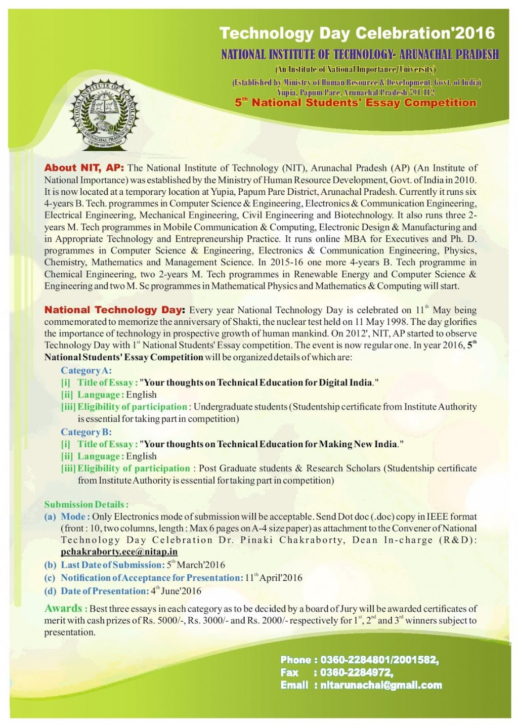 021 Essay Example Afsa High School Contest Brochure For 5th Competition Page Staggering Large