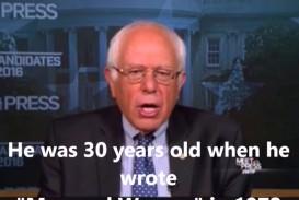 021 Essay Example Bernie Sanders Rape Phenomenal