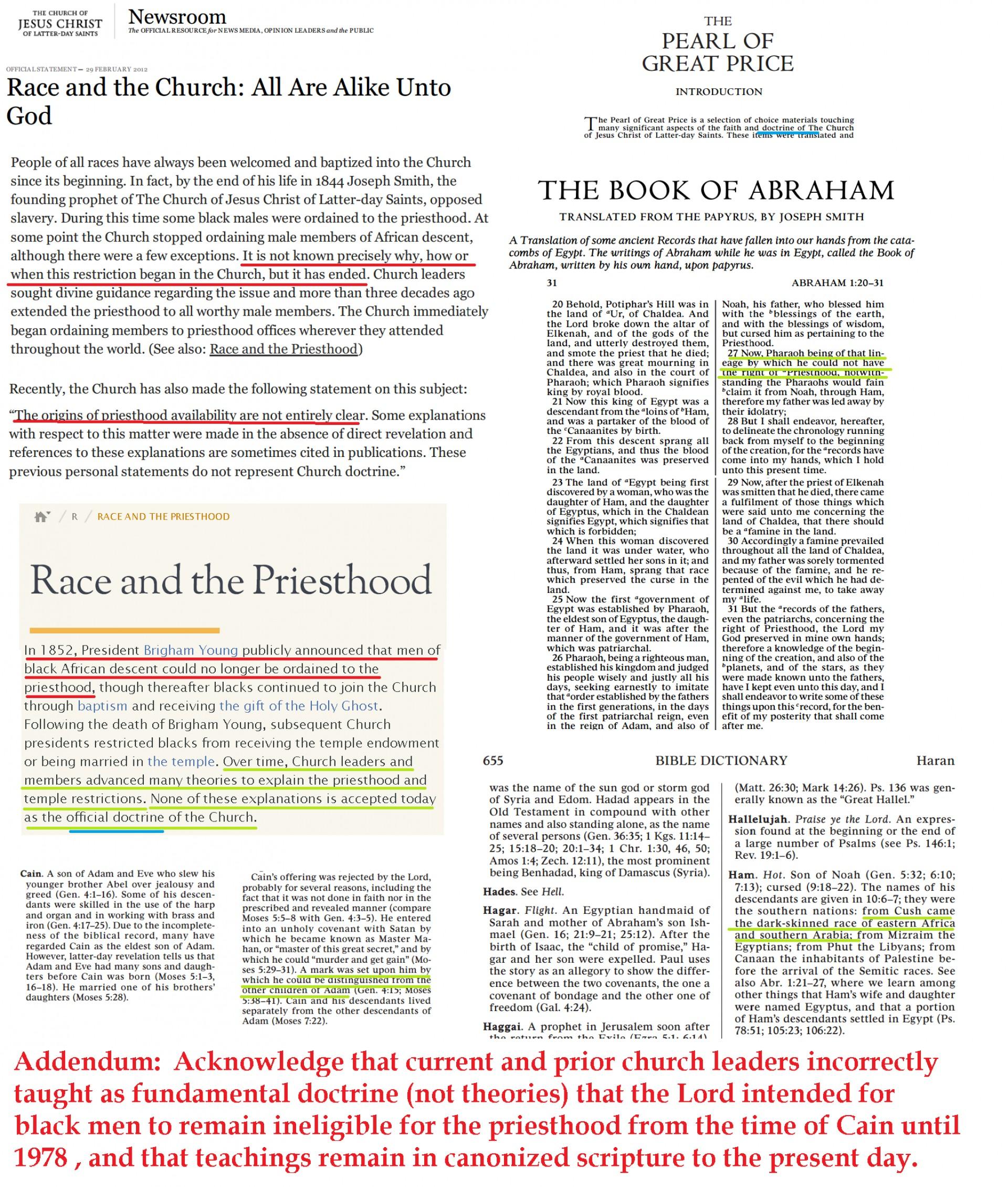 021 Essay Example Black And Priesthood Gospel Topics Outstanding Essays Book Of Abraham Pdf Mormon Translation 1920