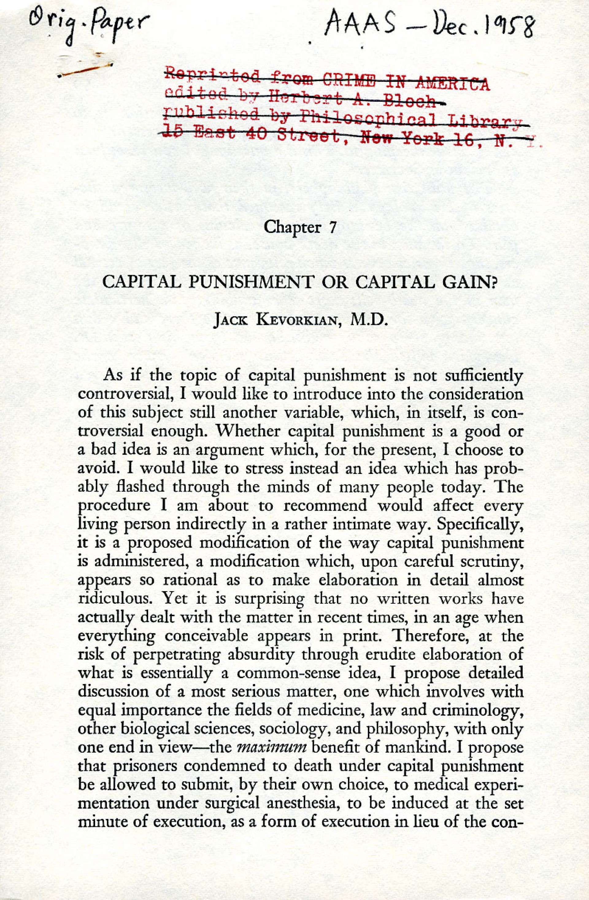 021 Essay Example Capital Breathtaking Punishment For And Against Should Be Abolished 1920