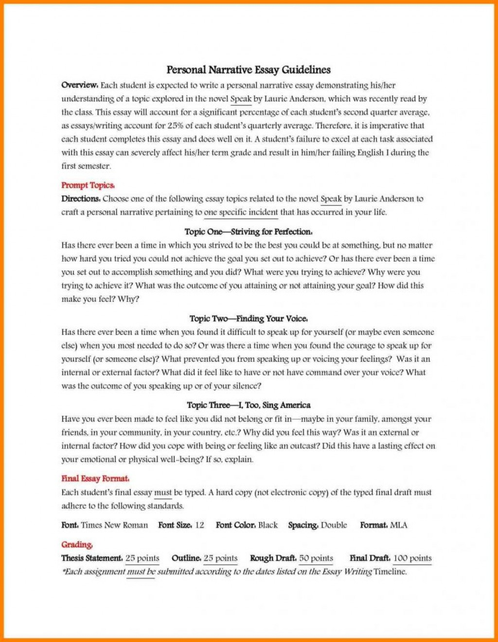 021 Essay Example Free Essays Topics Homework Service How To Write An History Narrative For High School Format Picture Wr Explaining Bake Cake Teaching Child Explain From Book Stirring Questions Grade 10 Before 1877 Students Large