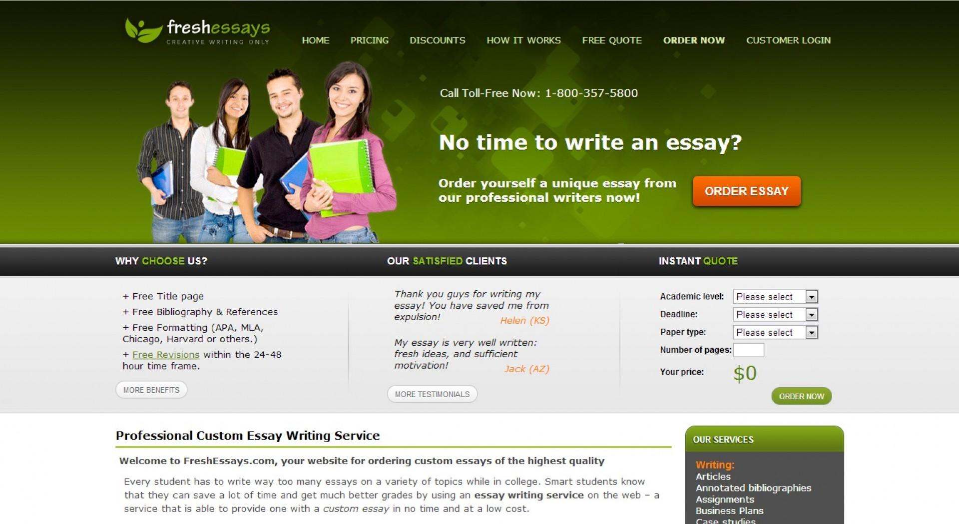 021 Essay Example Freshessays Com Review Fresh Wondrous Essays Contact Customer Service Number 1920