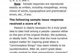 021 Essay Example Gre Scores Sample Test Papers With Solutions Awful Scoring Guide Score 3.5 6 Examples