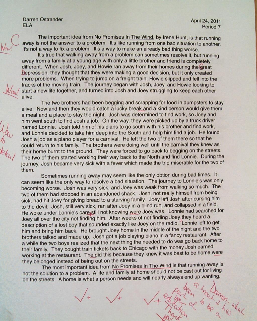 021 Essay Example On Phenomenal Depression Among Students Psychology Pdf Large