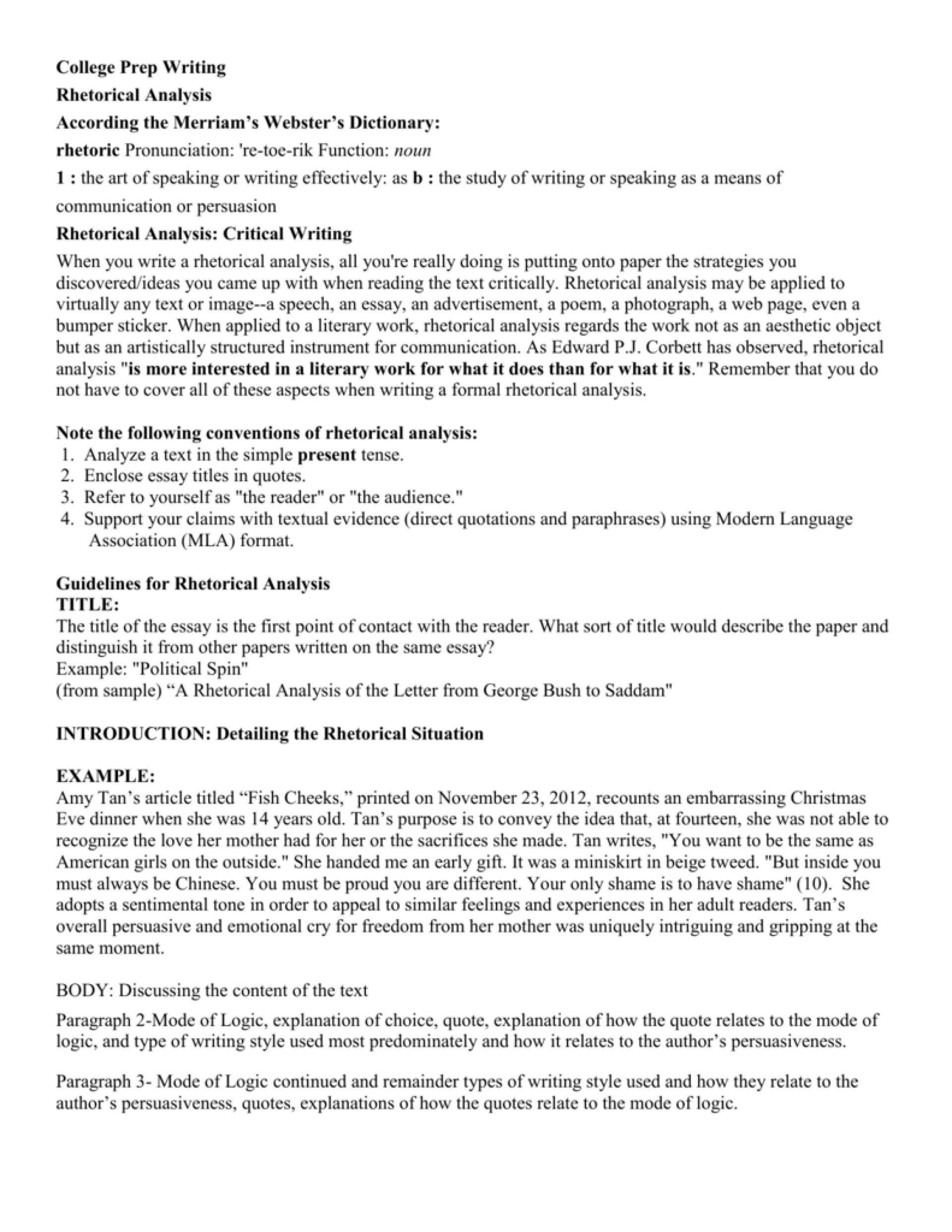 021 Essay Example Rhetoric 007662368 2 Beautiful Rhetorical Thesis Topics 2018 Analysis List 1920