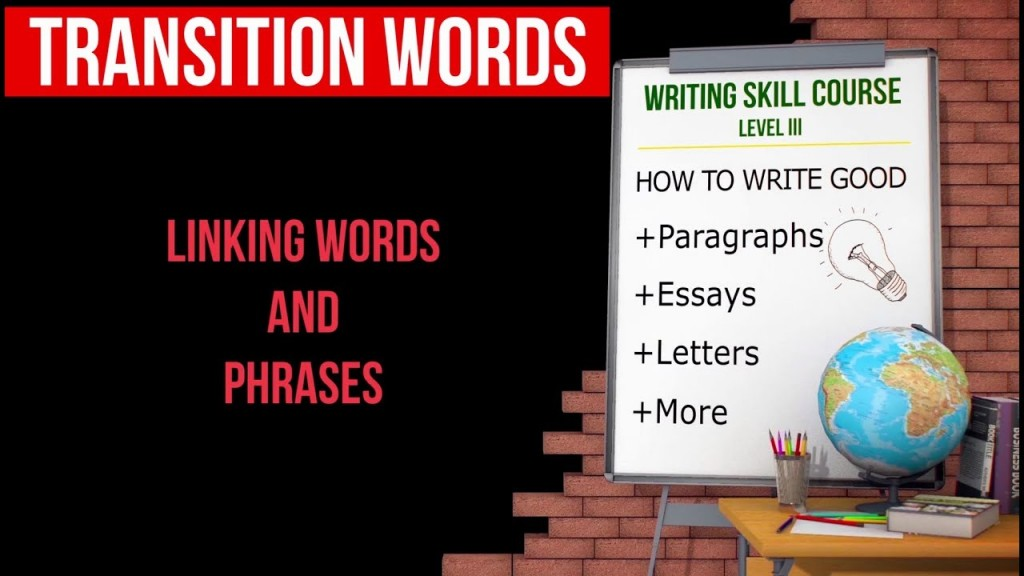 021 Essay Example Transition Words For Essays Rare And Phrases List Pdf 4th Grade Of Writing Large