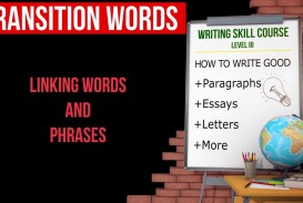 021 Essay Example Transition Words For Essays Rare And Phrases List Pdf 4th Grade Of Writing 320
