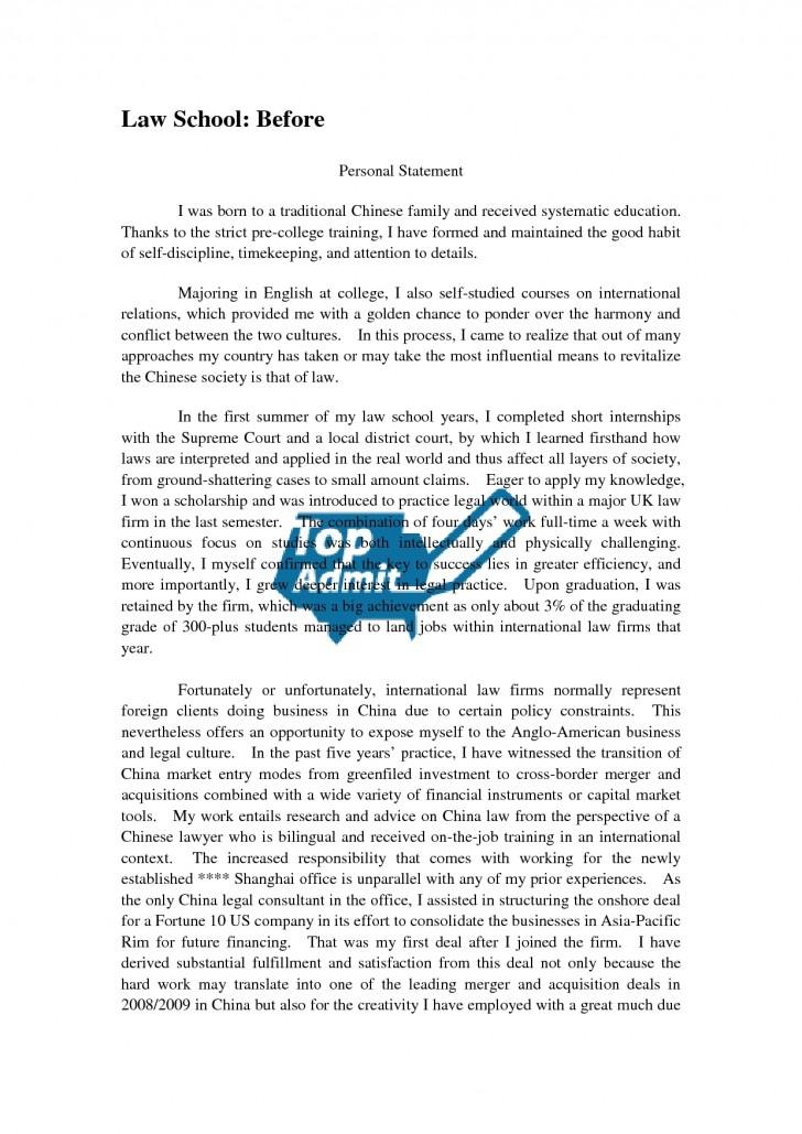 021 Essay For Graduate Admission Example Surprising Nursing School Personal 728