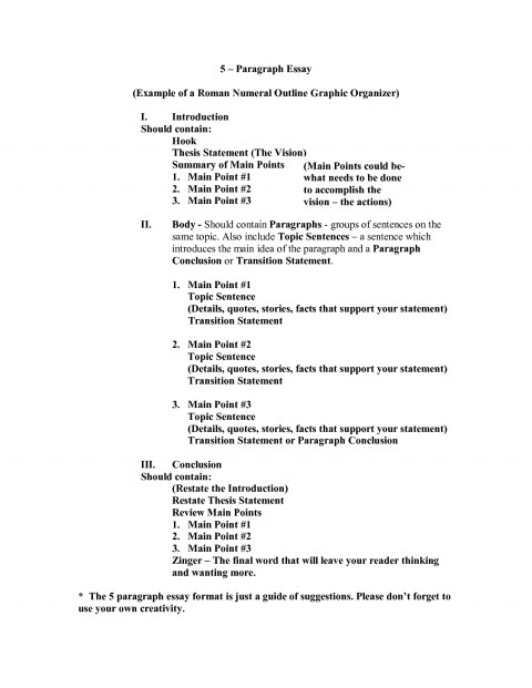 021 Essay Outline Sample Example Roman Numeral Format 551235 Rare Examples Research Writing Template Apa 480
