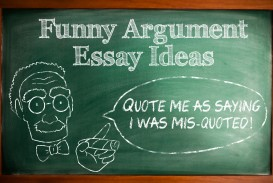 021 Funny Argumentative Essay Topics Marvelous For Middle School