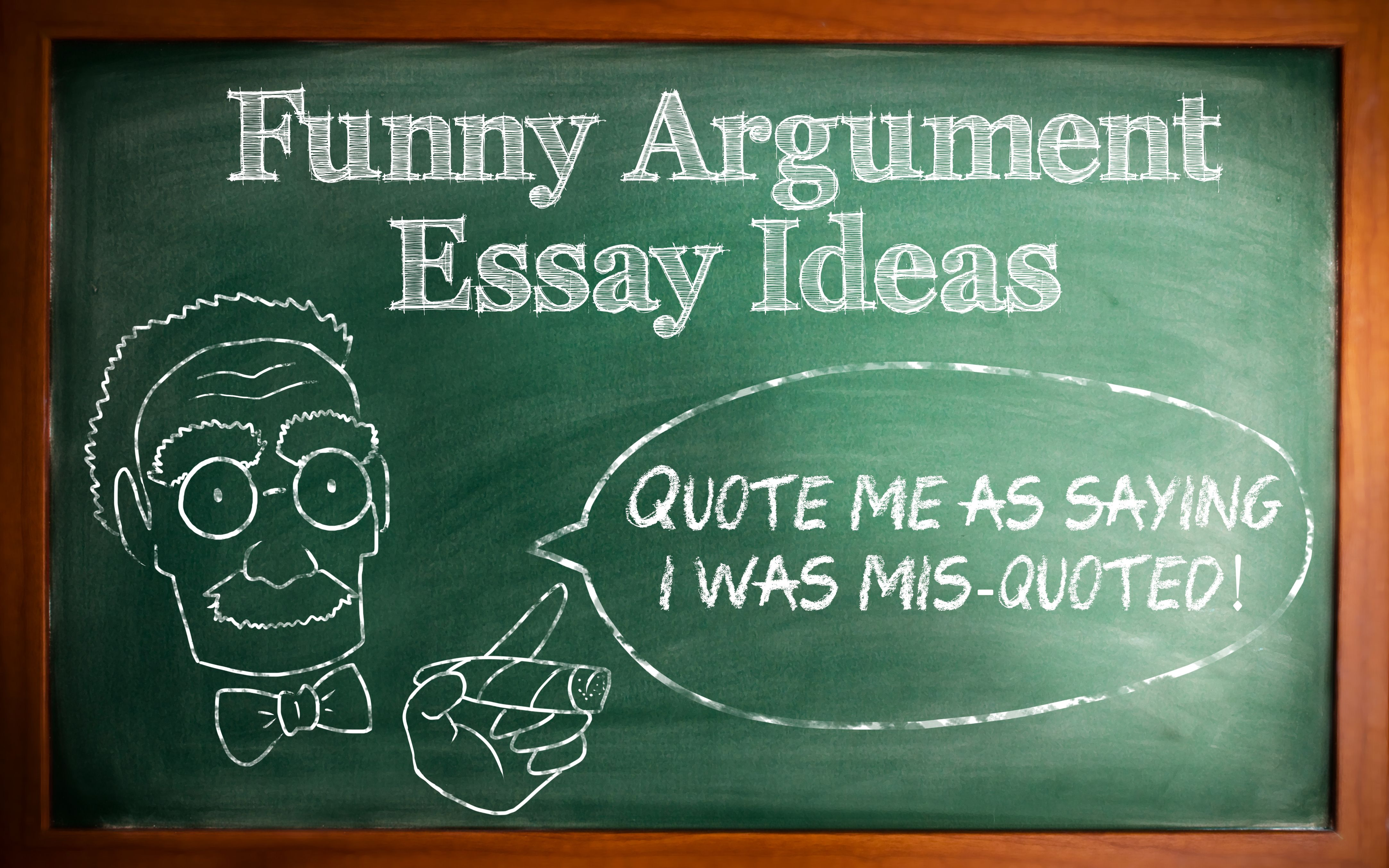 021 Funny Argumentative Essay Topics Marvelous For Middle School Full